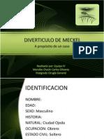 Diverticulo de Meckelcaso Clinico