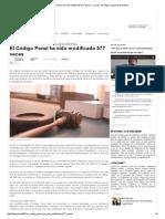 El Código Penal ha sido modificado 577 veces — La Ley - El Ángulo Legal de la Noticia