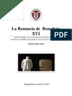 Eduardo Inglés Benedicto XVI