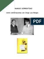Sorrentino, Fernando - Siete Conversaciones Con Borges