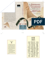 Patrimonio Documental de Mexico