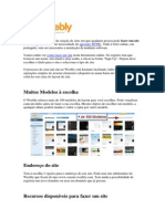 Tutorial Weebly