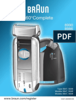 Braun 360 Complete Razor