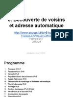 IPv6 0X06 Découverte de voisinage et adresse automatique