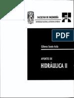 APUNTES DE HIDRÁULICA II