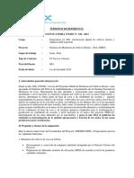 TORS Especialista en SIG y Analisis Multiespectral 184 2013
