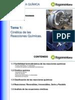 1a-Cinética de las Reacciones Químicas