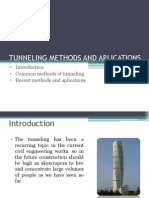 Tunneling Methods and Aplications