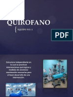 Equipo 1 Quirofano