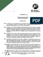 Acuerdo MAE 055 Reglamento Para Consultores