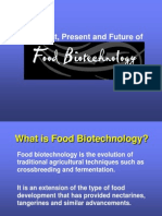The past present and future of food biotechnology.ppt