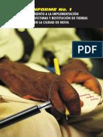 Revista informe de implementación de la ley de víctimas