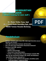 Resusitasi Neonatus- Inhouse Training Dept Ped Taman Husada Bontang Hospital