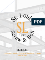 St Louis Screw & Bolt Binder Catalog