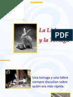 la liebre y la tortuga diapositivas de reflexiòn