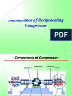 Maintenance of Reciprocating Compressor