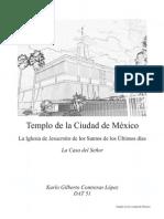 Templo de la Ciudad de México como objeto de diseño