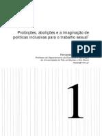 Proibições, abolições e o trabalho sexual_Fernando Bessa