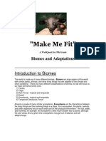 Make Me Fit-Web Quest