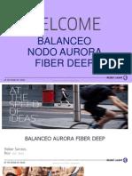 Balanceo Aurara Fiber Deep