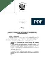 Proyecto de Ley Que Modifica La Estructura Organica de Los Grs