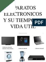 Aparatos Electronicos y Su Tiempo de Vida Util