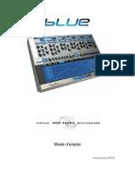 RP BLUE Manual v1.7 French