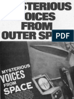 Mysterious Voices From Space by John A. Keel