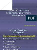 Chapter 20 - Accounts Receivable and Inventory Management