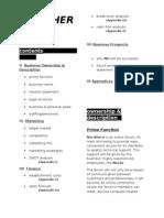 Year 11 Business Plan
