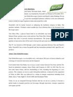 Tata Gluco Plus introduction and company profile