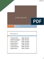 Kelompok 4 - Sistem Ballast