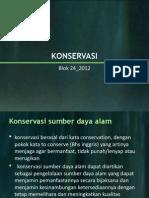 Konservasi Blok 24 2011