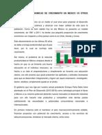 Estrategias Economicas de Crecimiento en Mexico vs Otros Paises