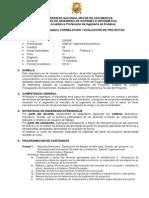 Silabo Oficial Formul Eval Proy 2013 1