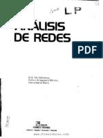 Analisis de Redes, M. E. Van Valkenburg - Www.freeLibros.com