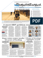 The Daily Tar Heel for Jan. 29, 2014