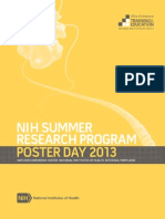 2013 Summer Poster Day Program