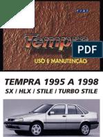 Manual Tempra SX HLX TurboStile