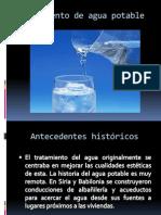 Tratamiento de Agua Potable