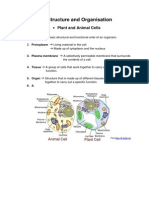 Notes-Cell Structure and Organisation