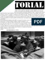 Desobediencia Civil - Tarde o Temprano -Editorial y Letras