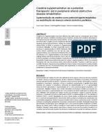 Potencial terapêutico da suplementação de Creatina na reabilitação de pacientes com doença arterial periférica.