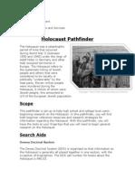 holocaust pathfinder
