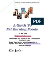 A Guide to Fat Burning Foods