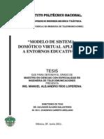 Modelo de Sistema Domotico Virtual Aplicado a Entornos Educativos