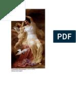Theophile Blanchard (1820-1849) Venus and Cupid