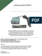 RM-203 USB Joystick Converter Rockfire USB-Nest