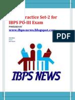IBPS PO Sample 2- Www.ibps-NEWS.blogspot.com