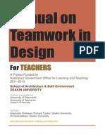 manual on teamwork in design-teachers-v3